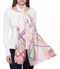 giani bernini ombre plaid oblong scarf