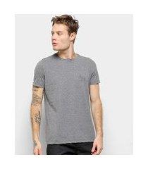 camiseta acostamento lista masculina