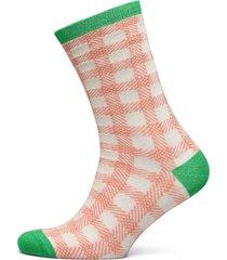 slfvida sock b lingerie hosiery socks rosa selected femme