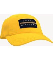 tommy hilfiger men's signature baseball cap golden glow -