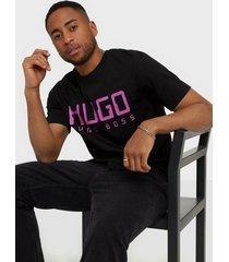 hugo dolive203 t-shirt t-shirts & linnen black