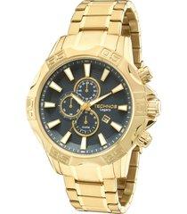 relógio technos classic masculino os10ey4a dourado