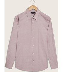 camisa vinotinto-blanco patprimo