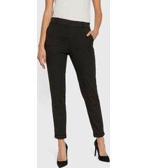 pantalón vero moda casual negro - calce regular