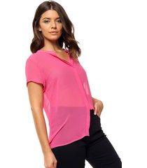 camisa rosa ted bodin