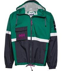 yu20 rain jacket outerwear sport jackets grön helly hansen