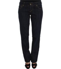 cotton straight fit stretch jeans