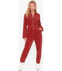 set the record-uroy straight relaxed boilersuit