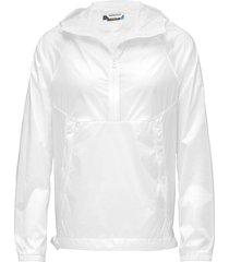 m jimmy jkt transparent nylon outerwear jackets anoraks wit j. lindeberg