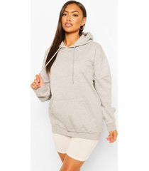 petite basic hoodie, grijs