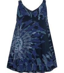 maglia con stampa batik (blu) - rainbow