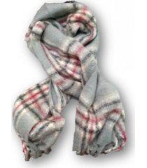 bufanda gris trendy polar hombre