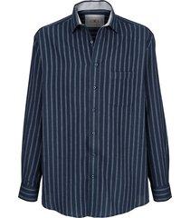 overhemd roger kent marine::blauw