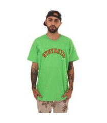 camiseta college synthetic inc. - sync - verde
