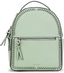 calpak kaya faux leather round backpack - green