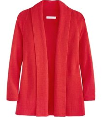 adyson parker women's ribbed long sleeve cardigan