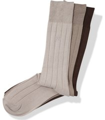 perry ellis men's 3-pk. rayon ribbed dress socks