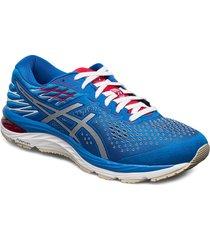 gel-cumulus 21 shoes sport shoes running shoes blå asics