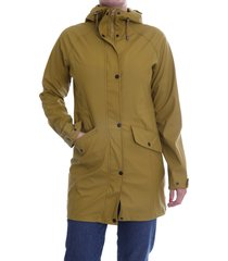 circle of trust blake raincoat bright brass geel