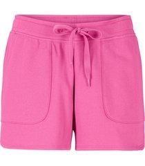 shorts in felpa con coulisse (fucsia) - bpc bonprix collection