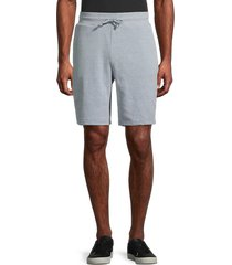 threads 4 thought men's drawstring cotton-blend shorts - heather grey - size l