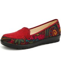 mocassini slip-on con stampa floreale