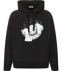 black and white soul planets hoodie