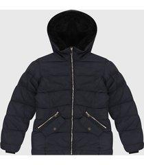 chaqueta azul navy paris district
