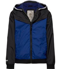hooded windbreaker outerwear jackets & coats windbreaker blauw timberland