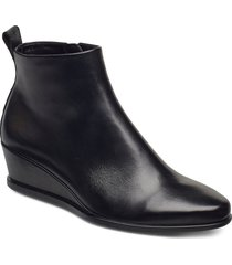 shape 45 wedge shoes boots ankle boots ankle boot - heel svart ecco