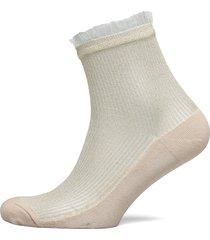 tullie sparkle sock lingerie socks regular socks creme becksöndergaard