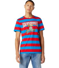t-shirt korte mouw wrangler w7e1fkxkl