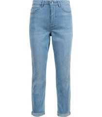 trendy mom jeans lichtblauw