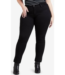 levi's trendy plus size 311 shaping skinny jeans