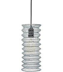 lampa wisząca ali silver - ii srebrna