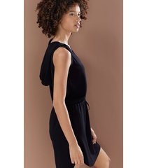 natori n-vious hooded dress, women's, size m