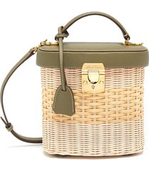benchley rattan shoulder bag