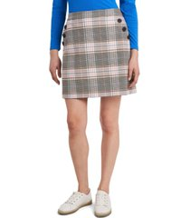 riley & rae hazel plaid skirt, created for macy's