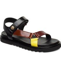 sandals 4192 shoes summer shoes flat sandals svart billi bi