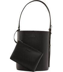 matt & nat azur bucket bag, black