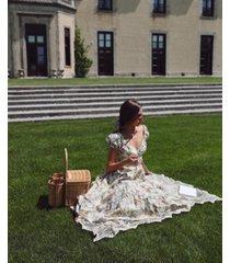 danielle bernstein printed poplin midi dress, created for macy's