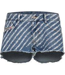 de-rifty shorts shorts denim shorts blå diesel women