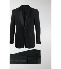tom ford contrasting-trim two-piece suit