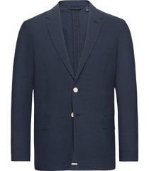 d2. seersucker blazer blazer colbert blauw gant