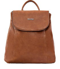 mochila marrón tropea aura