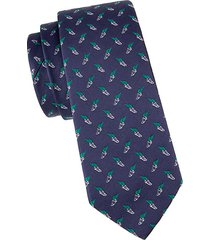 wednesday silk tie