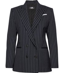 206w1407 blazers business blazers blå karl lagerfeld