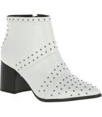 botín sonia blanco we love shoes