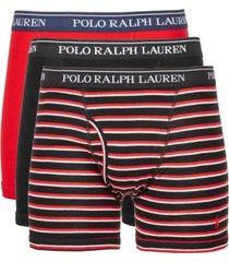 polo ralph lauren men's 3-pk. classic cotton boxer briefs