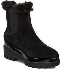 bax shoes boots ankle boots ankle boots with heel svart dkny